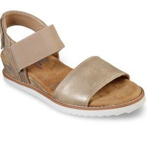 Bobs from Sketchers Desert Kiss Sandals size 9.5
